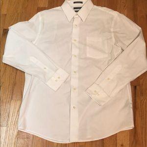 Apt 9 Men's White Dress Shirt